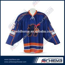custom sublimated new york rangers hockey jerseys