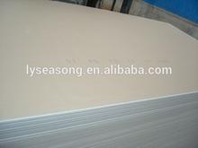 high quality low prices drywall plate / placa de gesso / gypsum board