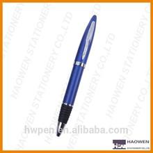 Rubber grip metal ball pen