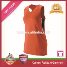 High quality dry fit fabric team wear basketball uniform design