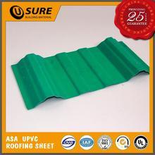 Plastic light structure roof design for ceramic plants