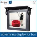 Feuerstein 19-zoll-lcd-tv, lcd-kabine auto taxi werbung bildschirm, auto head up display