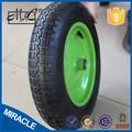Preço barato pequenas plana livre cheio de poli carrinho de roda da espuma do plutônio roda carrinho 3.25/3.00-8
