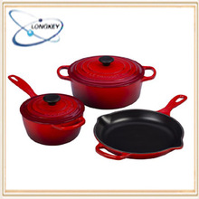 Hot!!! Popular Cookware Cast Iron enamelware