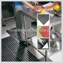 rubber kitchen mat/anti slip rubber mat