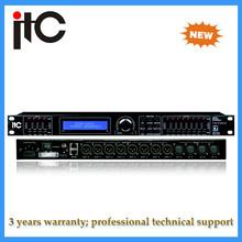 TS-P408 4 channel XLR female Audio Processor