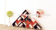Solid Wood Cube Shelf plastic shelf covers