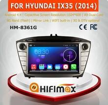 HIFIMAX Android 4.4.4 car radio dvd gps navigation for HYUNDAI ix35 2014 2015 hyundai tucson new multimedia for hyundai tucson