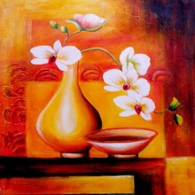Wholesale Price Modern Abstract Handmade Vase Pictures For Kitchen Decoration