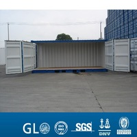 20ft Curtain Open Side Container