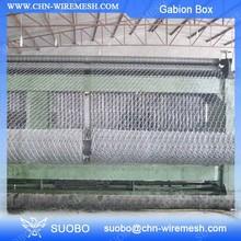 Erosion Control Galvanized Gabion Basket Anping Hexagonal Mesh Gabion Box