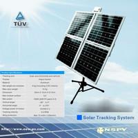 popular easy install solar tracker system dual-axis solar tracker