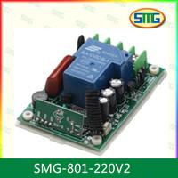 SMG-801-220V2 AC 220v 30A 1 channel Wireless RF remote control Switch Receiver