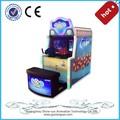 los niños de la moneda operado de interior de entretenimiento electrónico simulador de premio de la lotería de disparo de la máquina para los niños