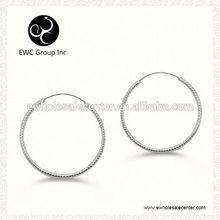 zircon & zircon earrings