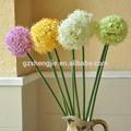 Guangzhou SJ coloré boule de fleurs de soie pour décoration de table