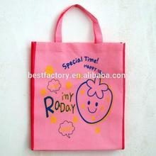unique design nylon or nonwoven fabric foldable shopping bag