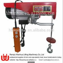 Hot Sale PA Mini Electric Hoist/Mini Electric Winch Hoist