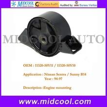 high quality engine mounts for sunny B14 OEM 11320-50Y11 11320-50Y10