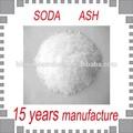 Na2CO3 ceniza de soda de mínimo 99.2%, soda para lavar