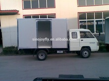 strong capacity foton van/box body truck 4x2 foton cargo truck for sale