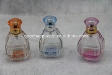 lady diamond glass bottle for perfume