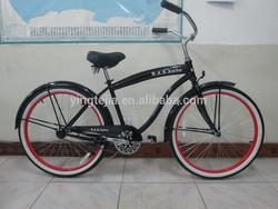 black hot selling men beach cruiser /bicycle KPOJ
