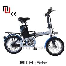 16 inch electric bicycle EN14764 EN15194 Beibei