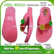 Factory Price Girl Slipper Mould PCU Flip Flop Mould
