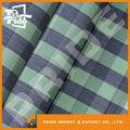 Pr-jy027 2015 tela de la camisa hilado teñido de tela
