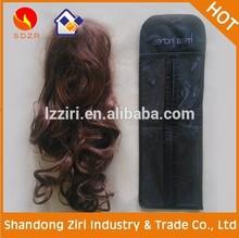 cheap custom clear pvc hair packs/vinyl hair extension packaging/packaging for hair extensions