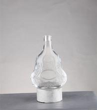 Wholesale 700ml empty clear cognac hennessy bottle