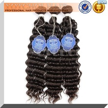 Qingdao yotchoi hair products high quality brazilian human hair wet and wavy hair