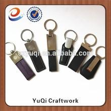 Trade Assurance custom logo metal car key chain with engraving