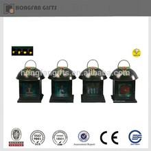 cheap led christmas snow lantern
