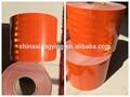 laranja grande cores tarja micro design pet material acrílico para a fita reflexiva