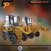 china manufacturer 0.8ton side loader forklift truck micro loader price