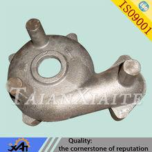 industry aluminum casting pump body