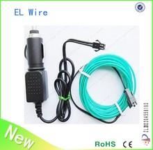HOT!!!Cheap el wire/multi color el wire/colorful el wire for decoration wholesale