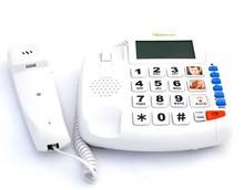 Emergency Medical Alert,Elders Alert Emergency Phone with 8 Sets Protection Modes,SOS Old People