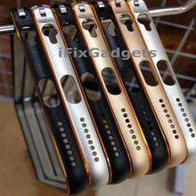 0.7MM Ultra-thin metal aluminium bumper case for iPhone 6