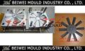 de plástico de auto aspa del ventilador la fabricación del molde