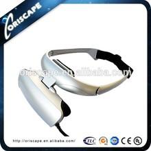 "56"" Virtual Screen Head Mounted TV LCD Display Glass"