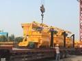 Alta capacidade de betoneira elétrica, twin- eixo misturador concreto, china js750 diesel misturador de concreto