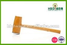 Hot selling wood meat hammer for selling