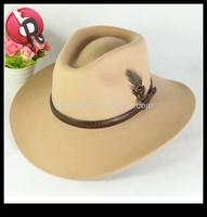 cheap promotion wool felt cowboy hat