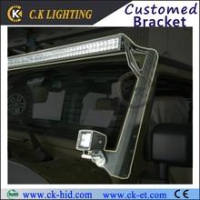 Hot sale!!! 4x4 Off road car parts dual led light bar mount for jeep wrangler JK