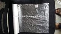 Hdpe flat plastic bag export to Romaina