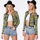 Women Fashion Long Sleeve Stripe Printed the latest coat styles for Women SV006795