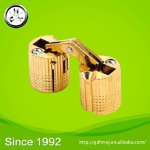 At logistic center primary color brass invisible hinge for jewelry box or door